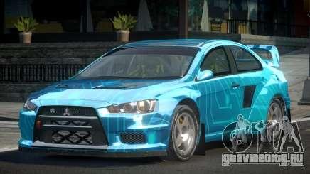 Mitsubishi Lancer Evo-X SP-G PJ1 для GTA 4