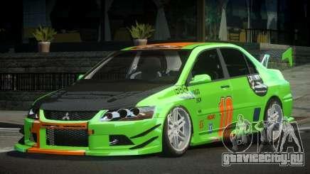Mitsubishi Lancer IX SP Racing L5 для GTA 4