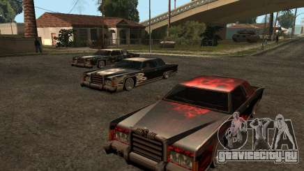 3 novas Paint Jobs de caveira para Remington для GTA San Andreas