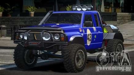 Nissan Patrol Off-Road L7 для GTA 4