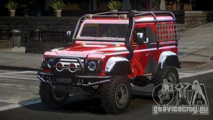 Land Rover Defender Off-Road PJ6 для GTA 4