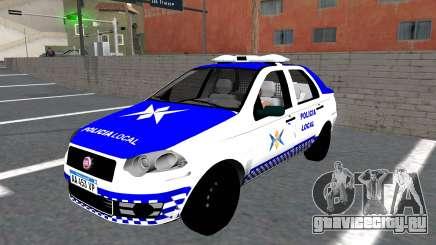 Fiat Siena Police для GTA San Andreas