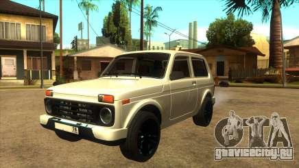 LADA URBAN 78RUS для GTA San Andreas