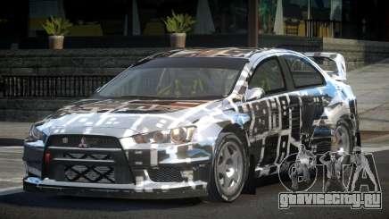 Mitsubishi Lancer Evo-X SP-G PJ8 для GTA 4