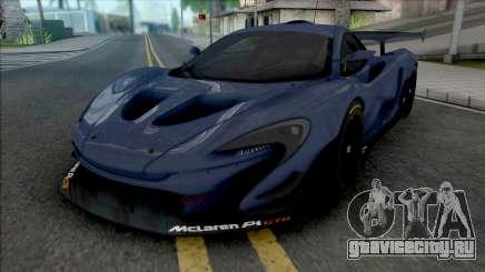 McLaren P1 GTR (SA Lights) для GTA San Andreas