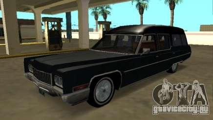 Cadillac Fleetwood 1970 Hearse Pack для GTA San Andreas