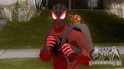 Spider-Man Miles Morales Bodega Cat Suit для GTA San Andreas