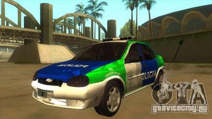 Chevrolet Corsa Police Bonaerense для GTA San Andreas