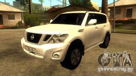 Nissan Patrol Y62 для GTA San Andreas