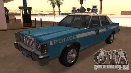 Ford Granada 1977 NYPD (Marbella GTA IV) для GTA San Andreas