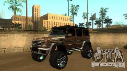 MERCEDES G500 4x4 для GTA San Andreas
