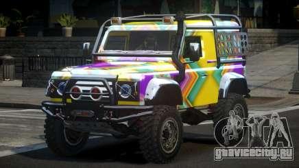 Land Rover Defender Off-Road PJ8 для GTA 4