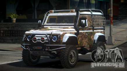 Land Rover Defender Off-Road PJ9 для GTA 4