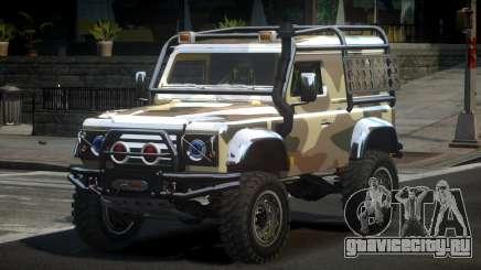 Land Rover Defender Off-Road PJ3 для GTA 4