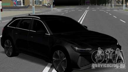 Audi RS6 Avant Black для GTA San Andreas