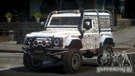 Land Rover Defender Off-Road PJ7 для GTA 4