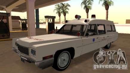 Cadillac Fleetwood 1970 Ambulance для GTA San Andreas