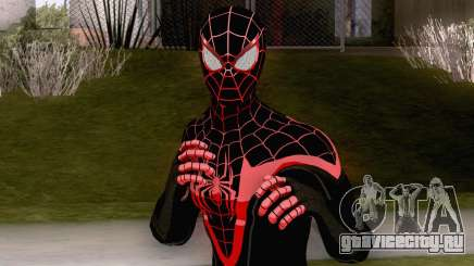 Spiderman Miles Morales Classic Suit для GTA San Andreas