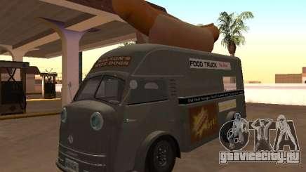 Tempo Matador 1952 Hotdog Van - Edition для GTA San Andreas