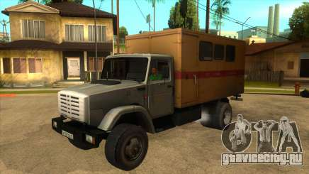 ЗИЛ 4331 ТТУ для GTA San Andreas