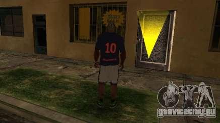 CAMISA PSG NEYMAR JR. для GTA San Andreas
