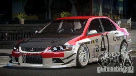 Mitsubishi Lancer IX SP Racing L1 для GTA 4