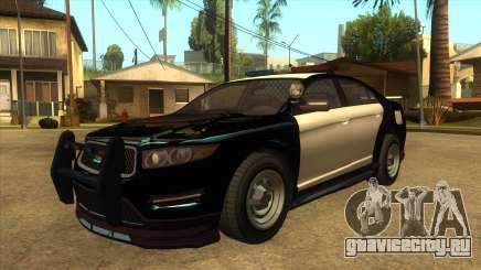 MGRP Police Vapid Interceptor v2 для GTA San Andreas