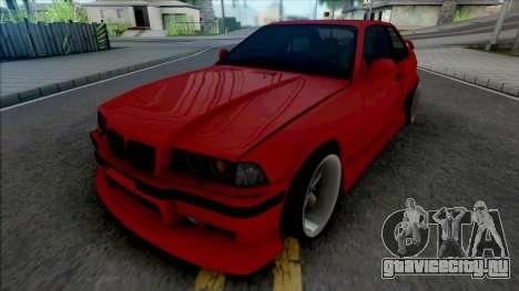 BMW 3-er E36 1996 AeroKit by Hazzard Garage для GTA San Andreas