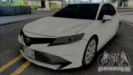Toyota Camry XLE 2018 для GTA San Andreas