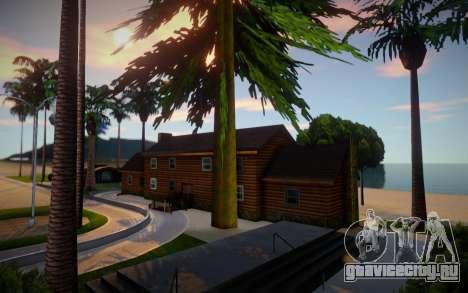New House In Santa Maria Beach для GTA San Andreas