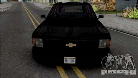 Chevrolet Blazer [BETA] для GTA San Andreas