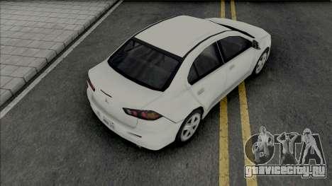 Mitsubishi Lancer 2.0 GT 2014 Improved для GTA San Andreas