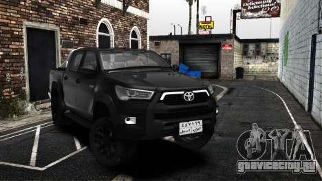 2021 Toyota Hilux invincible Exclusive для GTA San Andreas