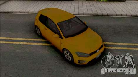 Volkswagen Golf GTI 2014 Improved v2 для GTA San Andreas