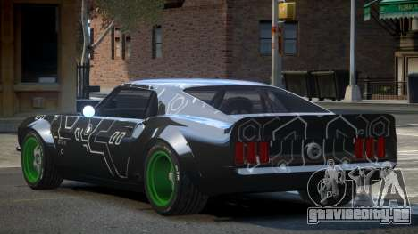 Ford Mustang RTR-X PJ3 для GTA 4