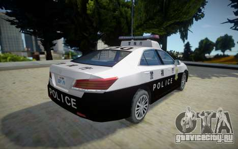 2016 Toyota Crown Patrol Car (210系) для GTA San Andreas