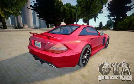 Mercedes-benz Sl 65 AMG - Improved для GTA San Andreas