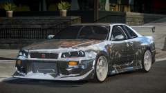 Nissan Skyline R34 GT-R PSI PJ7 для GTA 4