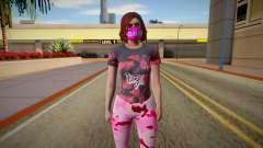 Female skin GTA ONLINE для GTA San Andreas