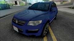 Volkswagen Touareg 2012 Blue