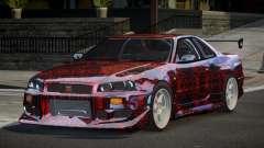 Nissan Skyline R34 GT-R PSI PJ5 для GTA 4