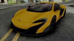 McLaren 675LT 2015 для GTA San Andreas