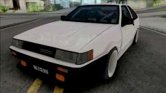 Toyota AE86 Levin Touge Version для GTA San Andreas