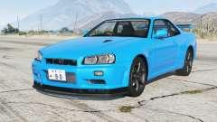 Nissan Skyline GT-R V-spec II (BNR34) 2000〡add-on для GTA 5
