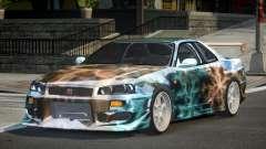 Nissan Skyline R34 GT-R PSI PJ2 для GTA 4