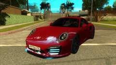 Porsche 911 Turbo S Black для GTA San Andreas