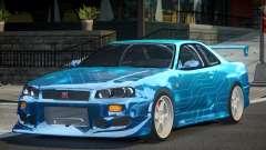 Nissan Skyline R34 GT-R PSI PJ1 для GTA 4