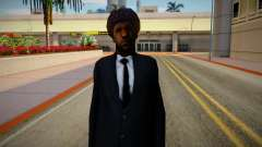 Sweet Johnson New Clothing Style & Hair для GTA San Andreas
