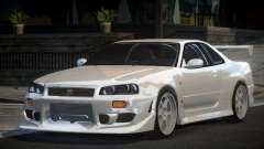 Nissan Skyline R34 GT-R PSI для GTA 4