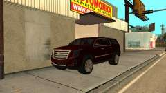 Cadillac Escalade 2019 final для GTA San Andreas